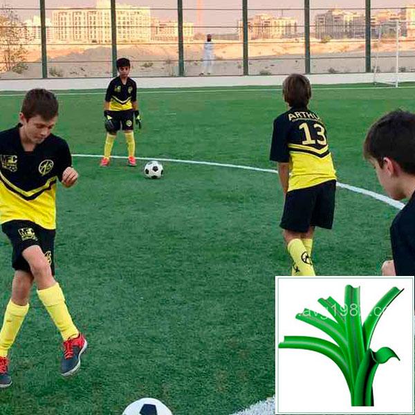 Искусственная трава для футбола, модель: SWARD 50 (VV)